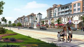 太阳城商业一条街