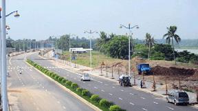 萬泉河中段綠化改造工程